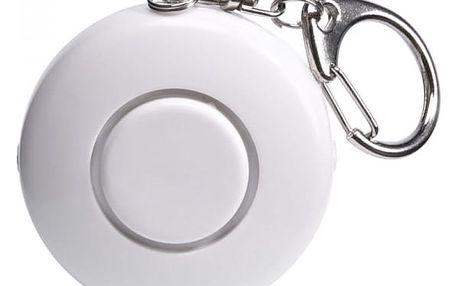 Osobní bezpečnostní alarm s LED svítilnou