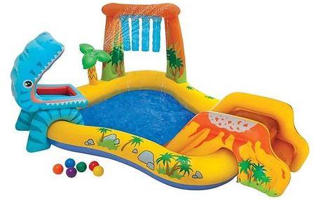 Bazénové hrací centrum Intex Dinosaurus (57444NP) + Doprava zdarma