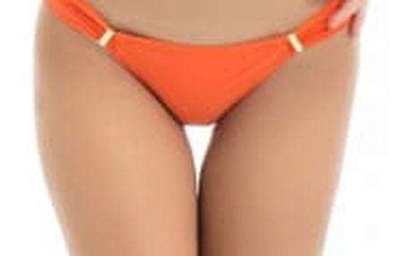 Jednobarevné plavky s nízkým pasem - 2 barvy