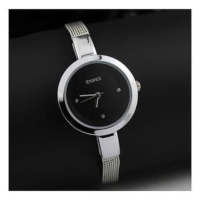 Dámské kreativní hodinky - ocel - 3 barvy
