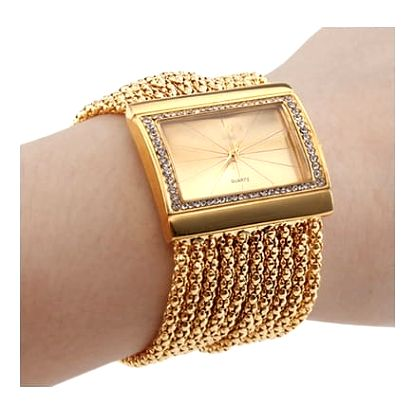Elegantní ocelové hodinky - 2 barvy