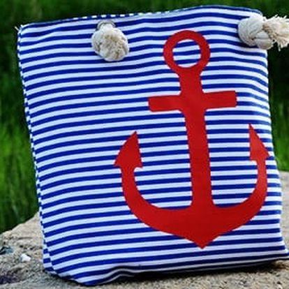 Stylová taška na pláž nebo do města