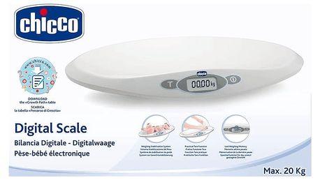 CHICCO Dětská digitální váha