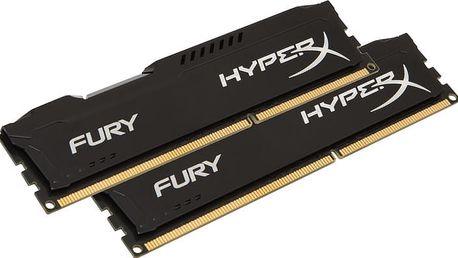 Kingston HyperX Fury Black 16GB (2x8GB) DDR4 2133 CL 14 - HX421C14FB2K2/16