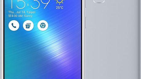 ASUS ZenFone 3 Max ZC553KL-4J034WW, stříbrná - 90AX00D3-M01060