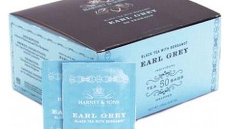 Čaj Earl Grey Harney & Sons 50 sáčků