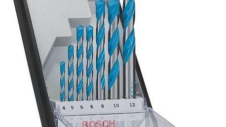Sada vrtáků Bosch 7dílná + Doprava zdarma