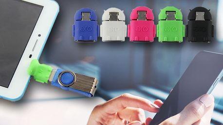Adaptér pro připojení USB flash k mobilu či tabletu
