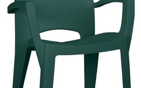 Spring - Židle (tmavě zelená)