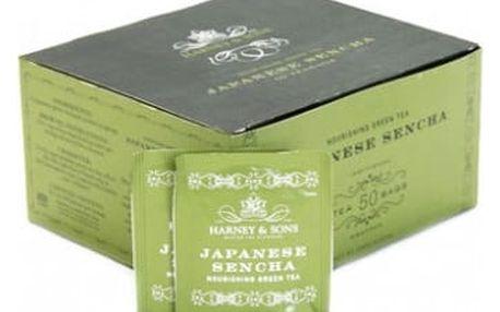 Čaj Japanese Sencha Harney & Sons 50 sáčků