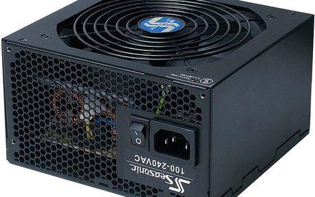 SeaSonic zdroj 620W S12II-620W 80+Bronze retail s akt PFC +SATA +PCI(6pin/8pin) (ventilátor 12 cm, SS-620GB F3)