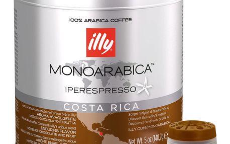 Kávové kapsle Monoarabica Costa Rica Illy 21 ks