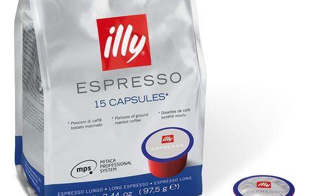 Kávové kapsle Mitaca Lungo Illy 15 ks