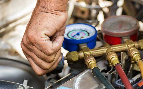 Kompletní kontrola a plnění klimatizace vozu, možnost dezinfekce
