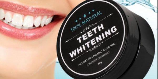 Bambusové uhlí pro bělení zubů Teeth Whitening