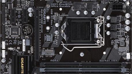 GIGABYTE B250M-DS3H - Intel B250 - GA-B250M-DS3H
