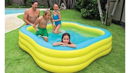 Dětský bazén Intex 2,29 x 2,29 x 0,56 m (57495NP) modrá barva/žlutá barva + Doprava zdarma