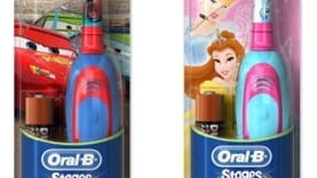 Zubní kartáček Oral-B D2 Battery červený/modrý