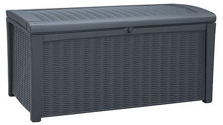 Box Keter Box Keter BORNEO BOX 416L antracit + Doprava zdarma