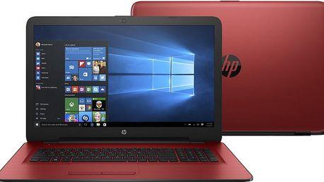 HP 17 (17-y003nc), červená - F5B73EA