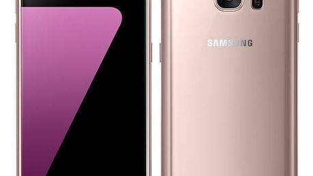 Mobilní telefon Samsung Galaxy S7 32 GB (G930F) (SM-G930FEDAETL) růžový Voucher na skin Skinzone pro Mobil CZPaměťová karta Samsung Micro SDHC EVO 32GB class 10 + adapter (zdarma)Software F-Secure SAFE 6 měsíců pro 3 zařízení (zdarma) + Doprava zdarma