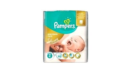 PAMPERS Premium Care Mini 3-6 kg 80 ks