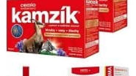 CEMIO Kamzík 2x60 kapslí + Betakaroten s biotinem 6 mg 80+40 kapslí ZDARMA