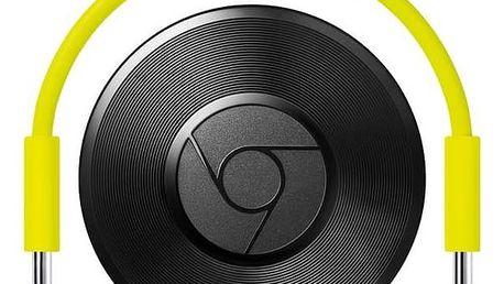 Android přehrávač Google Chromecast Audio černý/zelený