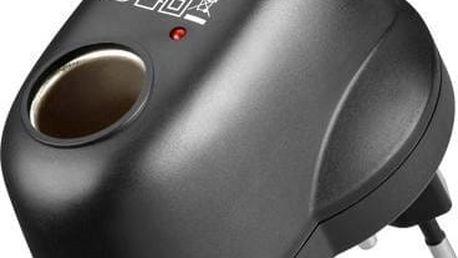 Goobay napájecí adaptér z 230V na autozásuvku 12V - 4040849547898