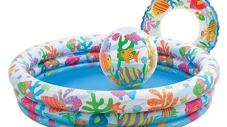Dětský bazénový set Intex Rybičky