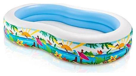 Dětský bazén Intex 2,62 x 1,60 x 0,46 m s motivem (56490NP) + Doprava zdarma