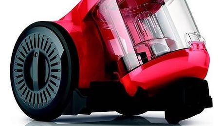 Vysavač podlahový Dirt Devil Ultima red DD2620-1 červený Turbohubice Dirt Devil M219 MINI (zdarma) + Doprava zdarma