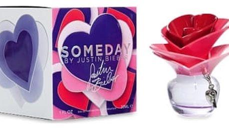 Justin Bieber Someday 50 ml parfémovaná voda tester pro ženy