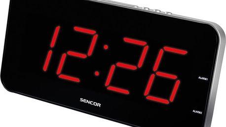 Sencor SDC 130 RD, hodiny - 8590669153695