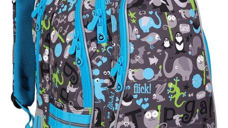 Školní batoh Topgal CHI 701 C - Grey