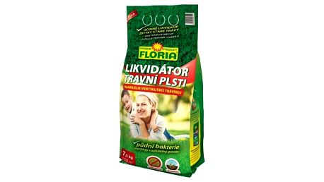 Hnojivo Agro FLORIA Likvidátor travní plsti 7,5 kg