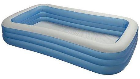 Dětský bazén Intex 3,05 x 1,83 x 0,56 m (58484NP) bílá barva/modrá barva + Doprava zdarma