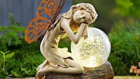 """Solární světlo """"elfí dívka"""""""