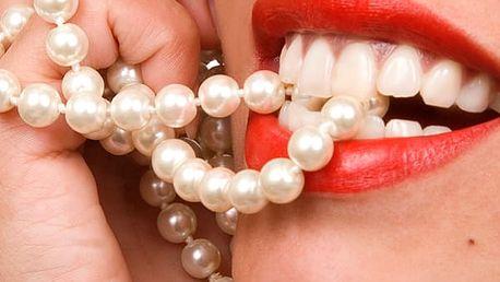 Neperoxidové bělení zubů přístrojem Whiten led v prestižním studiu The One Wellness Club.