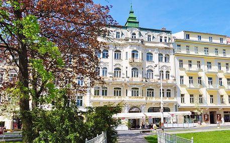 3 nebo 4denní wellness pobyt s polopenzí pro 1 či 2 v hotelu Polonia v Mariánských Lázních