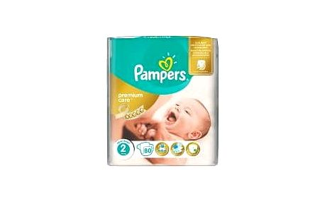 PAMPERS Premium Care 2 MINI 3-6 kg 80 kusů