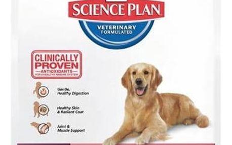 Granule Hill's Canine Adult Large Breed Lamb&Rice, 12 kg + Antiparazitní obojek za zvýhodněnou cenu + Doprava zdarma