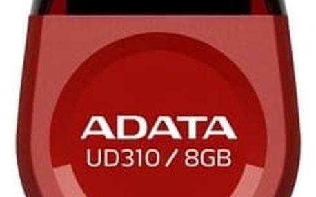 ADATA UD310 8GB, červená - AUD310-8G-RRD