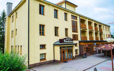 Týden v Tatrách přímo v centru Starého Smokovce v hotelu Smokovec ***