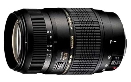 Objektiv Tamron AF 70-300mm F/4-5.6 Di LD Macro 1:2 pro Nikon (A17 N II) černý + DOPRAVA ZDARMA