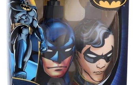 DC Comics Batman & Robin dárková kazeta šampon & sprchový gel 2v1 Batman 300 ml + sprchový gel Robin 300 ml