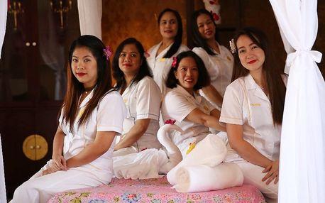 60minutová havajská masáž + lázeň Hammam