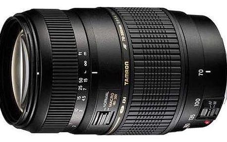 Objektiv Tamron AF 70-300mm F/4-5.6 Di LD Macro 1:2 pro Nikon (A17 N II) černý