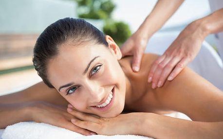 Relaxační masáž zad a šíje na 60 minut na Praze 1