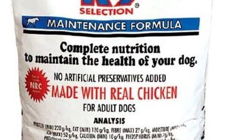 Granule K-9 Maintenance Formula 20 kg + Antiparazitní obojek za zvýhodněnou cenu + Doprava zdarma